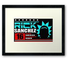 Rick Sanchez !! Framed Print