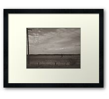 Country Scape Framed Print