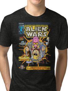 Alien Wars Tri-blend T-Shirt