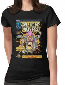Alien Wars Womens Fitted T-Shirt