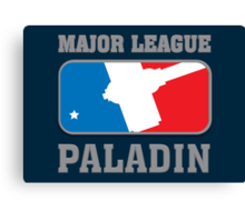Major League Paladin Canvas Print