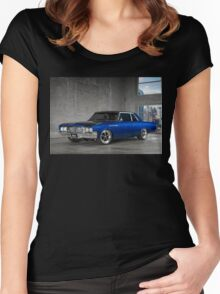 Ron Grabbe's Twin-Turbo 1964 Buick Special Women's Fitted Scoop T-Shirt