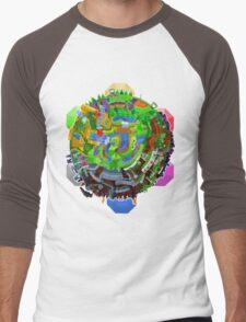 Dominion Of A Scrap Brain Men's Baseball ¾ T-Shirt