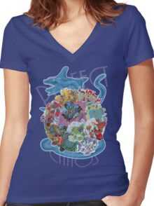 Perfect Chaos Women's Fitted V-Neck T-Shirt