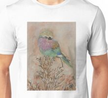 Lilac breasted roller Unisex T-Shirt