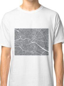 Berlin Map - Gray Classic T-Shirt