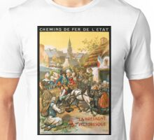 La Bretagne Pittoresque, French Travel Poster Unisex T-Shirt