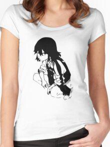 Ryuko Anime Manga Shirt Women's Fitted Scoop T-Shirt