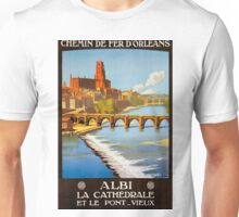 Albi, French Travel Poster Unisex T-Shirt