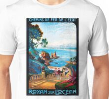 Royan sur L'Ocean, French Travel Poster Unisex T-Shirt
