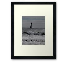 Surf and Sail Framed Print