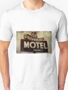 Vintage El Sombrero Motel Sign, Salinas, CA. T-Shirt