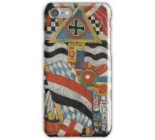 Portrait of a German Officer Artist Marsden Hartley (American, Lewiston, Maine  Ellsworth, Maine) iPhone Case/Skin