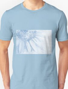 Colorful watercolor of gentle flower with large petals Unisex T-Shirt