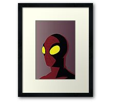 Spiderman by night Framed Print