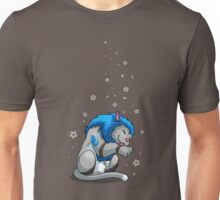 Derpkitty takes a bath Unisex T-Shirt