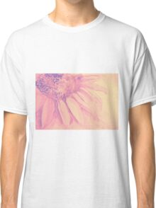 Colorful watercolor of gentle flower with large petals Classic T-Shirt