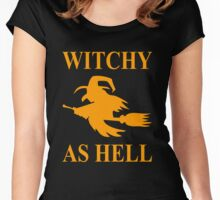 Witchy as Hell Women's Fitted Scoop T-Shirt