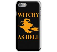 Witchy as Hell iPhone Case/Skin