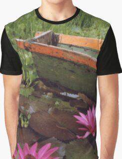Colombian Green Boat 01 Graphic T-Shirt