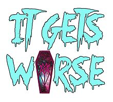 MSI - It Gets Worse Photographic Print