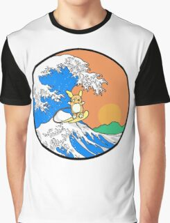 The Great Wave of Alola Graphic T-Shirt