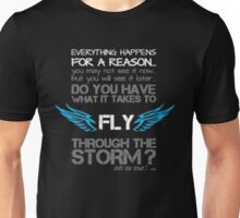 Everything happens for a reason you may not see it now - T-shirts & Hoodies Unisex T-Shirt