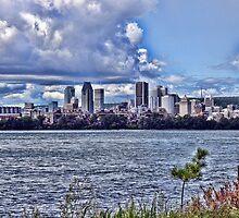 Montreal skyline by JoAnnFineArt