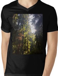 Down in the forest Mens V-Neck T-Shirt