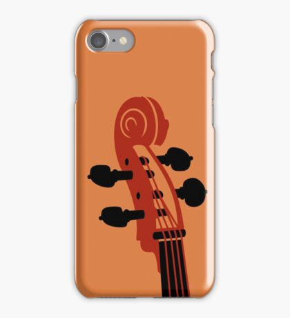 Cello Scroll VRS2 iPhone Case/Skin