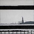 Liberty (acrylic on canvas) by LeMaxBleu