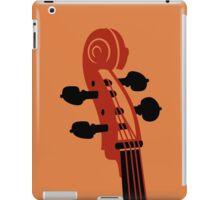 Cello Scroll iPad Case/Skin