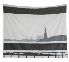 Liberty (acrylic on canvas) Wall Tapestry