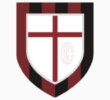 AC Milan Crest Kids Tee