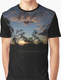 Esperance Bush Sunset Graphic T-Shirt