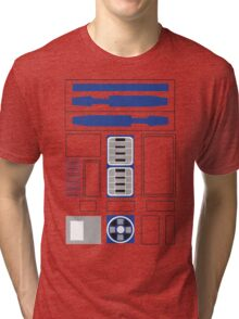 robot body Tri-blend T-Shirt