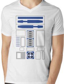 robot body Mens V-Neck T-Shirt