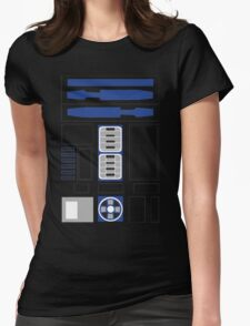 robot body Womens Fitted T-Shirt