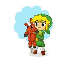Link and Epona by cpearson
