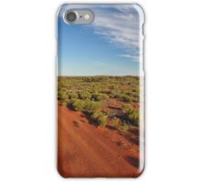 Red Dirt Road - Kilcowera Station iPhone Case/Skin