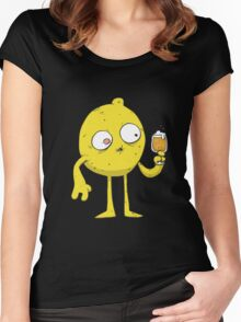 Sour Beer Monster Women's Fitted Scoop T-Shirt