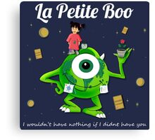 La Petite Boo Canvas Print