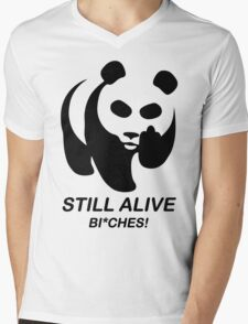 Still Alive Bixches Mens V-Neck T-Shirt