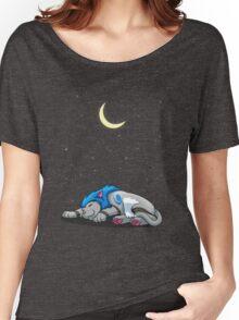 Derpkitty sleeping Women's Relaxed Fit T-Shirt