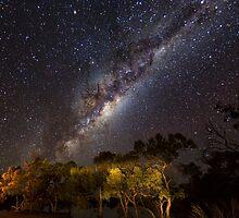 The Milky Way - Kilcowera Station by Malcolm Katon