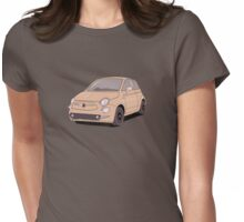 Pale Peach Womens Fitted T-Shirt