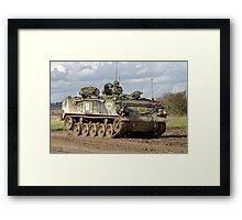 A British Army FV432 Armoured Personnel Carrier  Framed Print