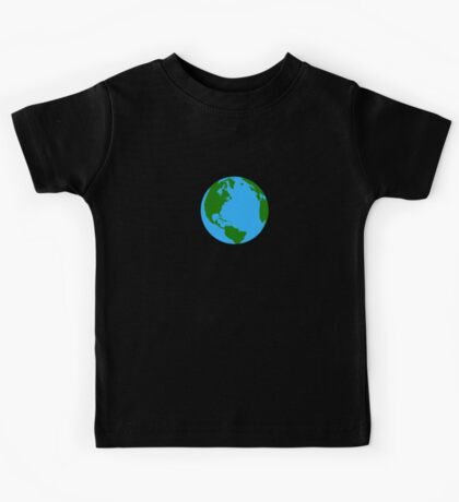 Planet Earth Clock Kids Tee