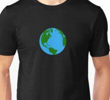 Planet Earth Clock Unisex T-Shirt