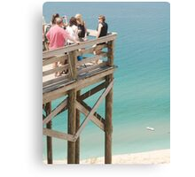 Observation Deck Canvas Print